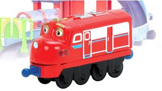"VIDEO FOR CHILDREN ""Train Checker Station Set""  Chuggington Toys, TRAINMAN Review"