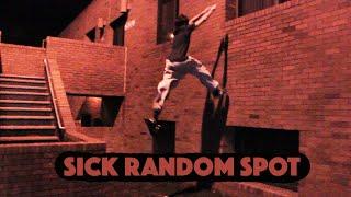 Random Night Training -Parkour