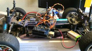 Control an RC car with a PS3 controller, Arduino UNO, USB host shield and Bluetooth dongle  (Part 2)