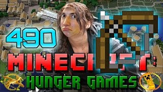 Minecraft: Hunger Games w/Mitch! Game 490 - Bows Are The Enemy!