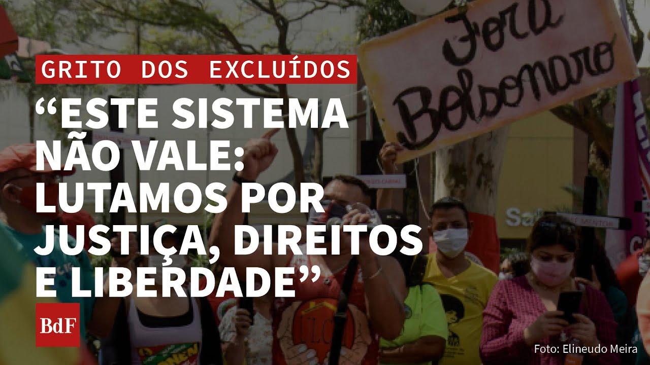 São Paulo/SP: a praça une os gritos