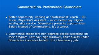Diet Counselor -- The Job For You?