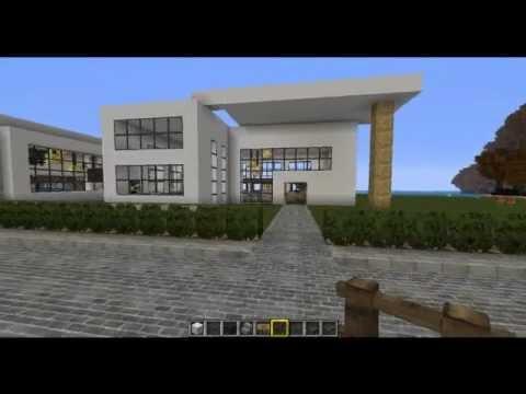 Minecraft - The Modern Cube - Episode 2 - Construction + ...