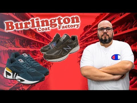 IN SEARCH OF RARE SNEAKERS AT BURLINGTON COAT FACTORY!