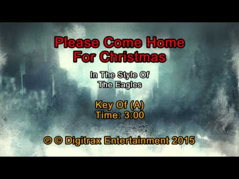 Eagles, The - Please Come Home For Christmas (Backing Track)