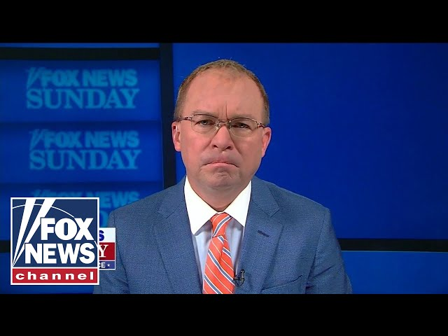 Chris Wallace asks Mick Mulvaney if he feels responsible for enabling Trump