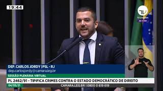 """O OPORTUNISMO PARA APROVAR A """"NOVA LEI DE SEGURANÇA NACIONAL"""""""