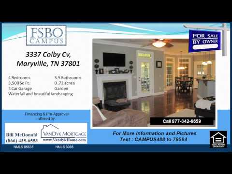 4 Bedroom House For Sale near Mary Blount Elementary School in Maryville TN