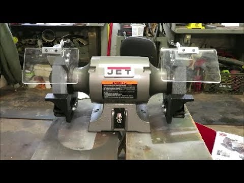 Jet 8 Inch Bench Grinder Youtube