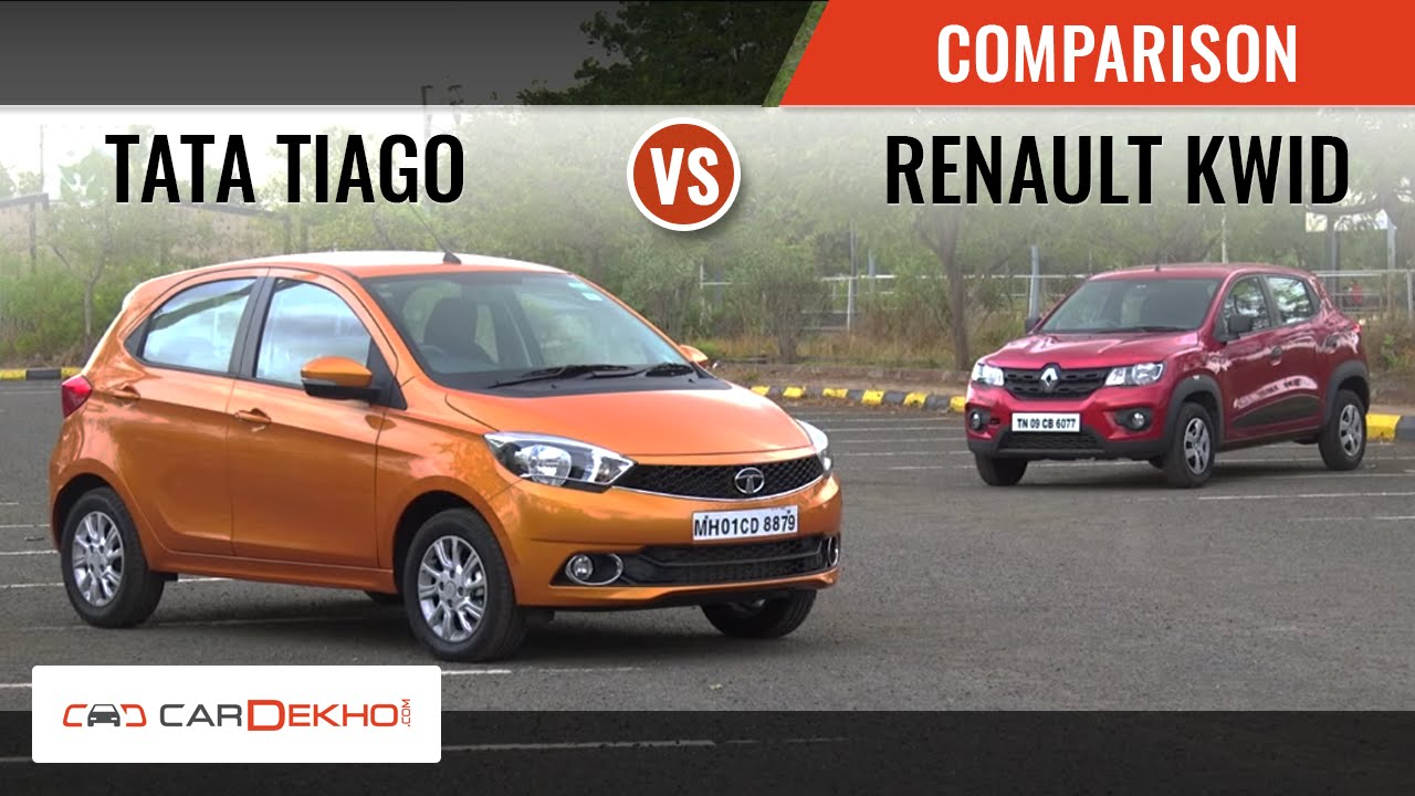 Clash Of Segments Renault Kwid 10l Vs Tata Tiago Which Car To