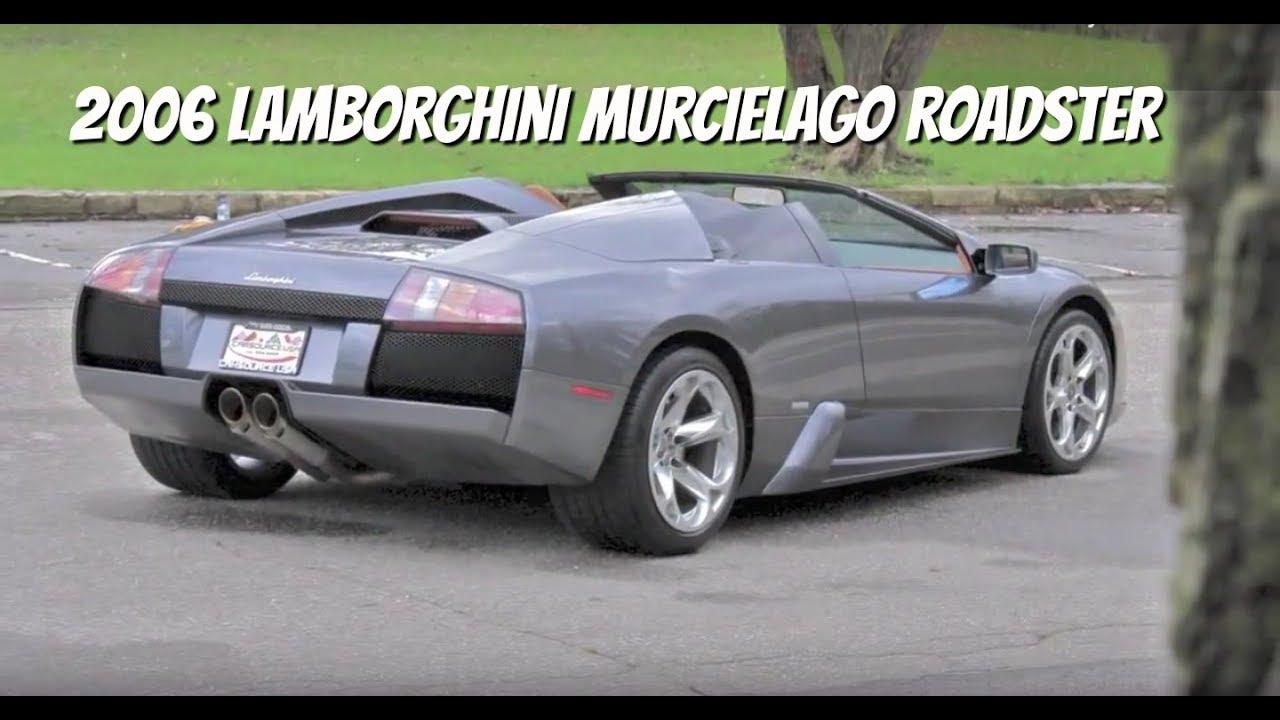 Lamborghini Murcielago Roadster **SOLD**   Video Test Drive With Chris  Moran   Supercar Network. Chris Drives Cars