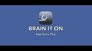 Brain It On App Game Play screenshot 3