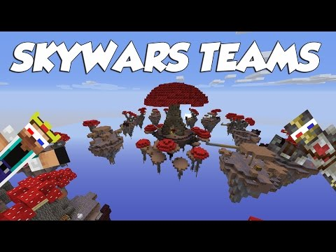 MINECRAFT MINI-IGRE #138 | SKYWARS TEAMS