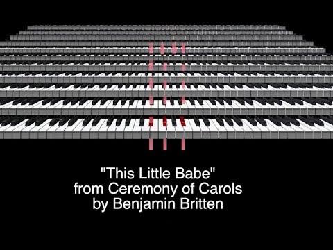 This Little Babe - Britten - Multitrack by the Julie Gaulke Choir