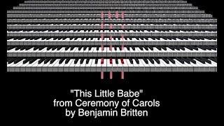 This Little Babe - Britten - Multitrack by the Julie Gaulke Choir