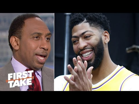 Stephen A. laughs away the idea of Anthony Davis to the Bulls   First Take