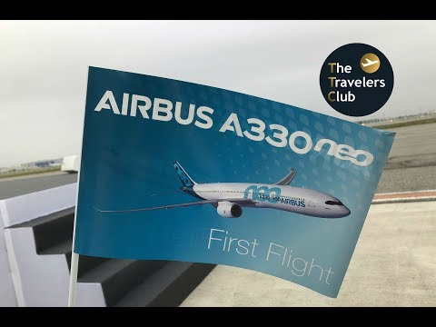 AIRBUS A330neo FIRST LANDING | TOULOUSE | AIRBUS DELIVERY CENTER