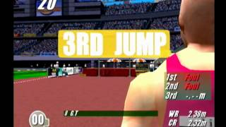 First Look: Virtua Athlete 2000 (Dreamcast)