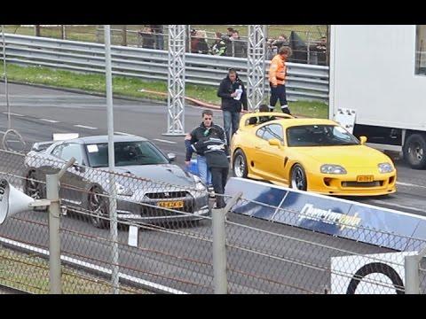 2JZ Supra vs. Nissan GT-R Switzer P800