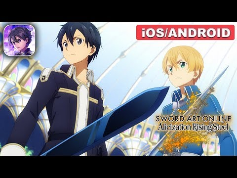 Sword Art Online Alicization Rising Steel Gameplay (Android, IOS)
