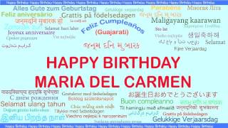 MariadelCarmen   Languages Idiomas - Happy Birthday