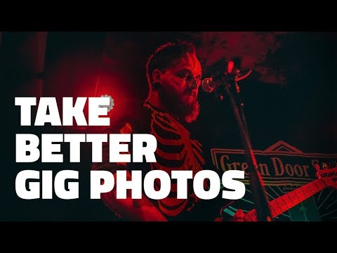 How to photograph a live gig. take better photos in low light at gigs and events