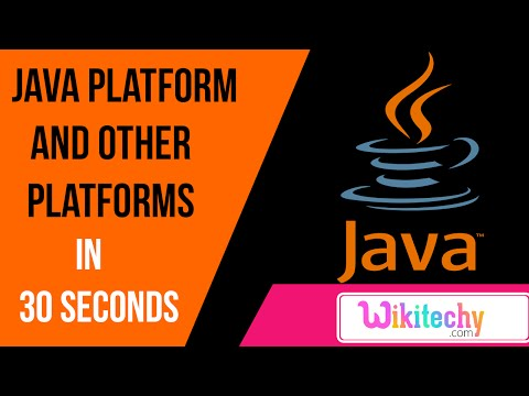 what is difference between java platform and other platforms | java interviews| wikitechy.com