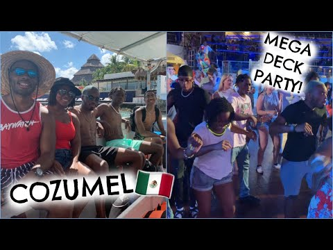 AWESOME SNORKEL EXCURSION + MEGA DECK PARTY! | Carnival Valor Day 3