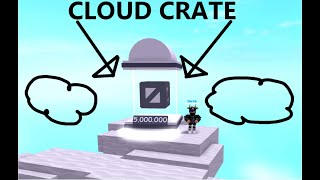 (Roblox) Speed City - CLOUD CRATE