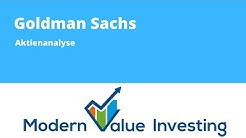 Goldman Sachs - Aktienanalyse - Modern Value Investing