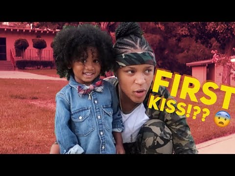 MY SONS FIRST KISS!!! | YOUNG EZEE