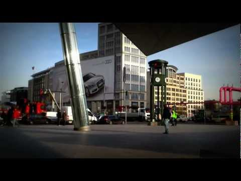 Potsdamer Platz Berlin Full HD Video