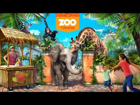 Zoo Tycoon XBOX ONE - Gameplay - My Freeform Europe Resort HD