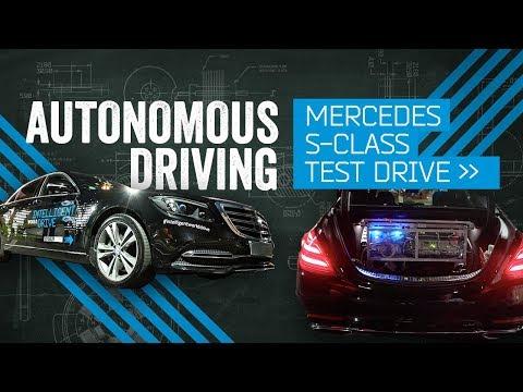 Teaching A Car To Drive: Mercedes Autonomous Test Drive @ CES 2018