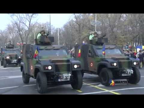 Romania Army Parade 2013