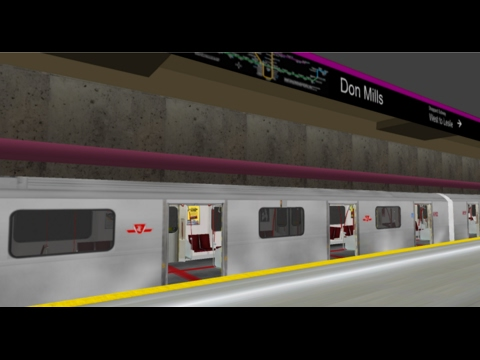 OpenBVE TTC Sheppard Line Full with 4 Car TR