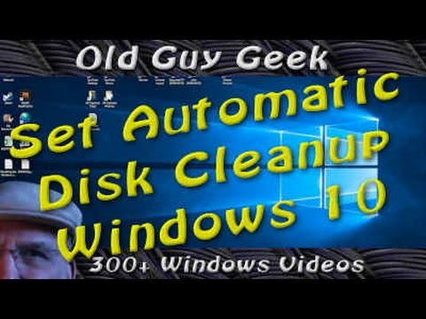 Windows 10 Creators Update - Automatic Disk Cleanup