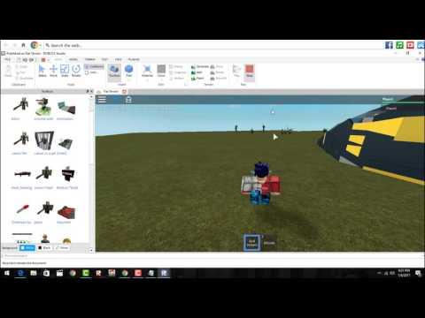 HOW TO MAKE YOUR OWN ROBLOX GAME!!!!!!!