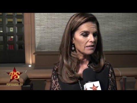 Maria Shriver Speaks on Gun Violence at Freeze Frame LA Premiere