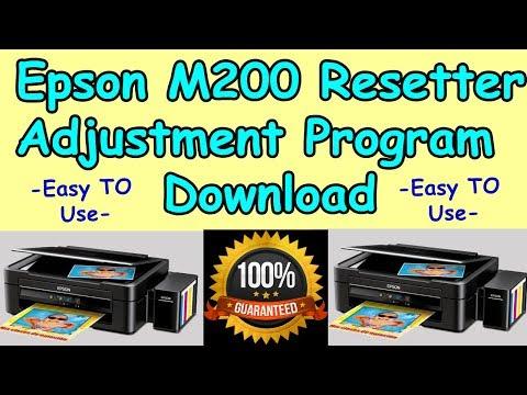 Epson Waste Ink Pad Reset Key