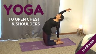 Video 15 Minute Heart Opening Yoga Sequence for Reducing Stress | Alex Howlett download MP3, 3GP, MP4, WEBM, AVI, FLV Maret 2018