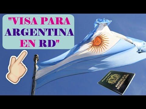 Cómo solicitar visa de turismo para Argentina en RD.🇩🇴