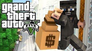 Minecraft GTA V | Grand Theft Auto 5 Mod Ep 4! 'SUBWAY GETAWAY' (GTA 5)