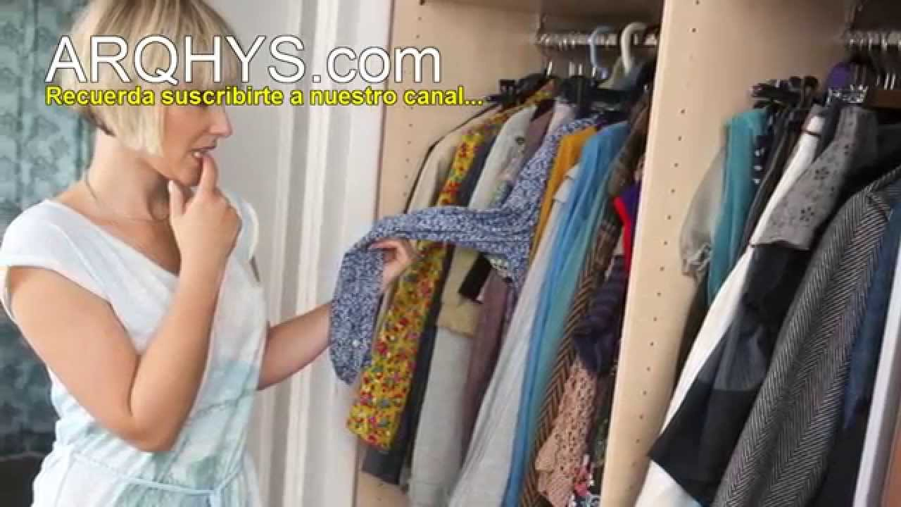 C mo organizar tu closet 5 consejos para ordenar tu armario ideas y trucos youtube - Como ordenar tu armario ...