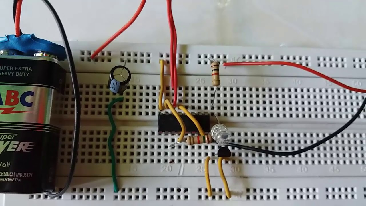 Ac Voltage Detector Using Ic 4017 Youtube How To Make Mp3 Player At Home Led Chaser 555 Timer Cd4017