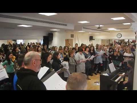 The Phantom Of The Opera Masterclass - led by Antony Gabriele. West End Musical Choir, London.