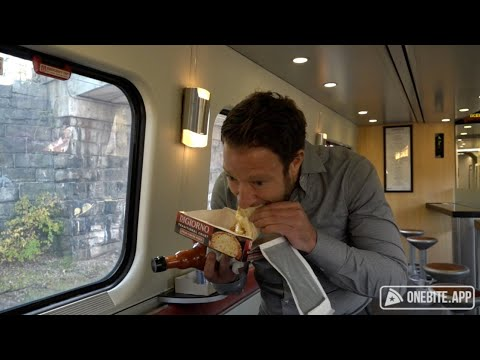 Barstool Pizza Review - Amtrak Cafe Car Presented By Frank's RedHot