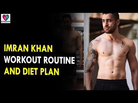 Imran Khan Workout Routine & Diet Plan || Health Sutra - Best Health Tips