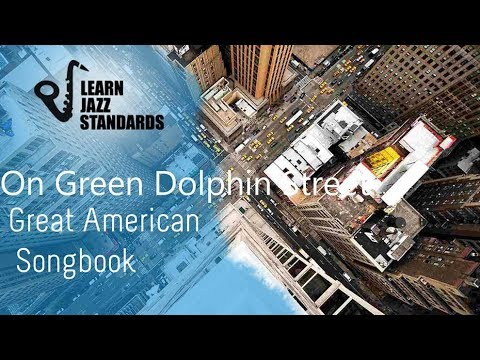 On Green Dolphin Street C major (Play-Along)
