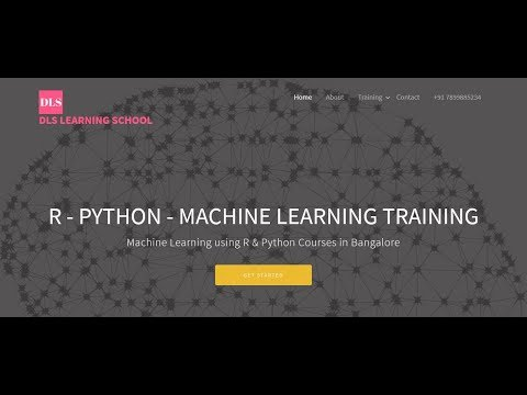Data Machine Learning R Python deep learning training in Bangalore
